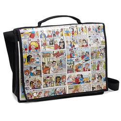 Recycled Comic Strip Messenger Bag