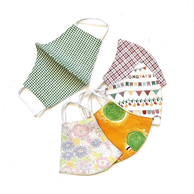 Reusable Cotton Face Mask Youth/Child