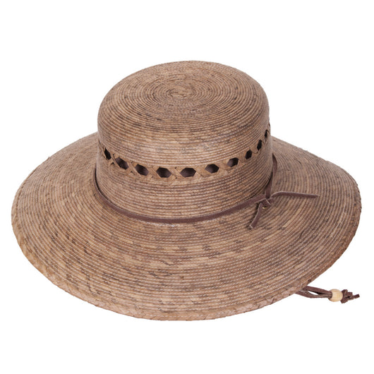 Rockport Lattice Palm Leaf Hat angle view