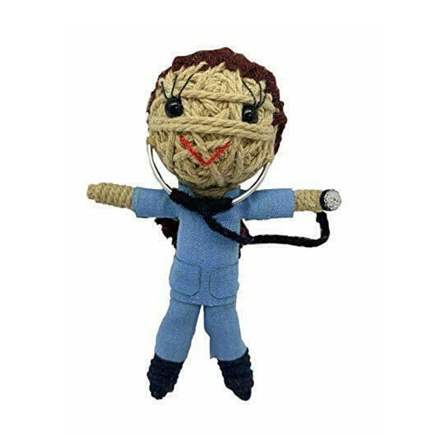 Kamibashi String Doll Keychain - Scrubs the Doctor Girl