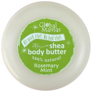 Global Mamas Slippery Slope Shea Butter-Rosemary Mint