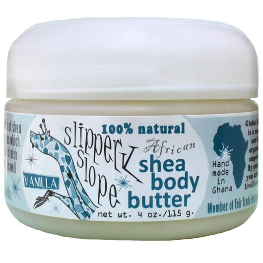Global Mamas Slippery Slope Shea Butter-Vanilla
