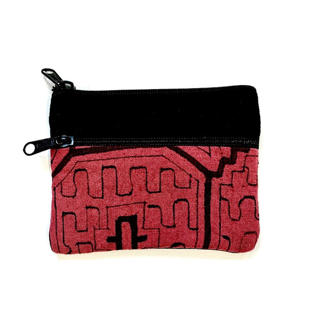 Shipibo Coin Purse Red