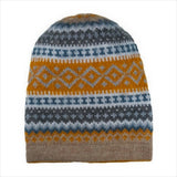 Sierra Knit Alpaca Blend Reversible Hat ASH