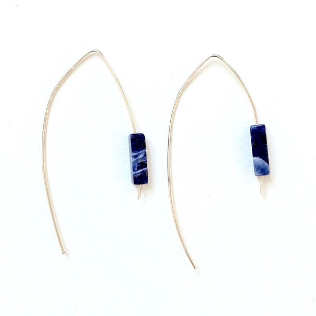 Silver Cielo Earrings