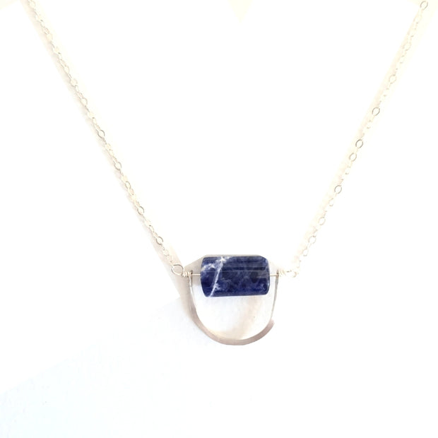 Silver Cielo Pendant Necklace