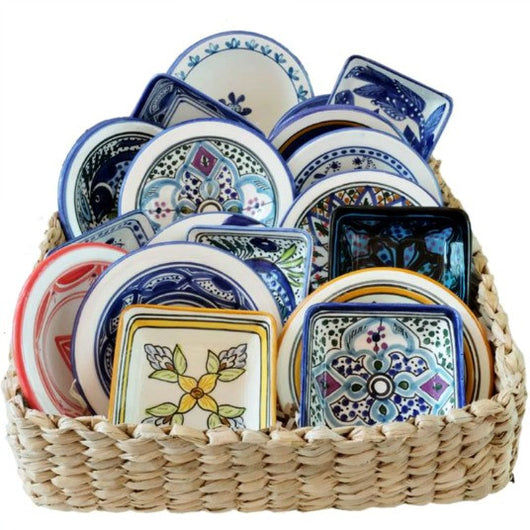Assorted Hand-painted Ceramic Sauce Dishes
