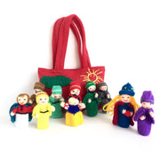 Snow White and the Seven Dwarfs Finger Puppet Set