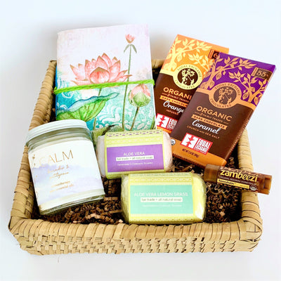 Stay at Home Serenely Gift Basket