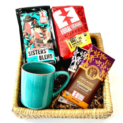 Stay at Home - Coffee Survival Gift Basket