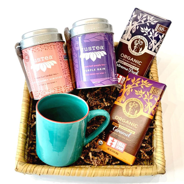 Stay at Home - Tea Survival Gift Basket