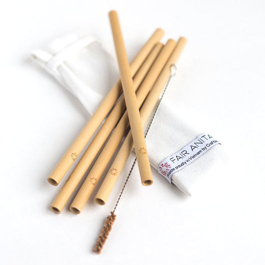 Sustainable Bamboo Straw Set