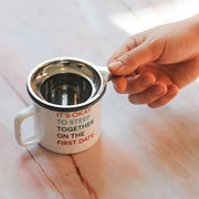Stainless Steel Tea Infuser let it steep