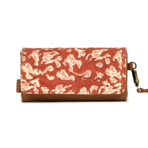 JOYN Foldover Vegan Wristlet Wallet - Autumn Shadow