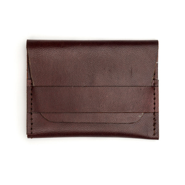 Sustainable Leather Slim Brown Wallet