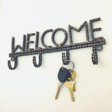 Fairly Traded Recycled Bike Chain Welcome Hooks
