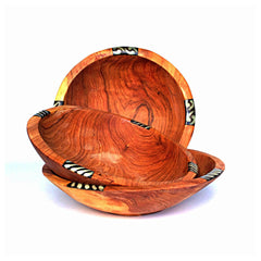 Fair Trade hand-carved wooden bowls from Kenya