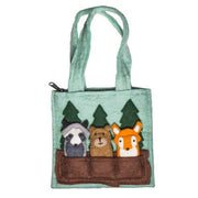 Felt Woodland Friends Puppet Bag