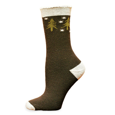 Wool Snuggle Socks - Forest by Maggies Organics