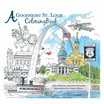 A Goodnight St Louis Coloring Book