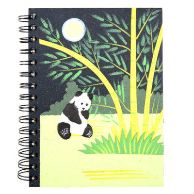 Mr. Ellie Pooh Panda Large Notebook Journal