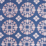 Mata Traders Artsy Traveler Dress Blue Tile-fabric detail