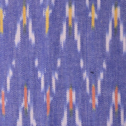 Mata Traders Cecilia Dress Chevron Ikat Blue fabric detail