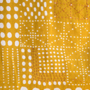 Mata Traders Chilmark Dress Gold fabric detail