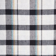 Mata Traders Dilly Dally Dress Tri-Tone Plaid fabric detail