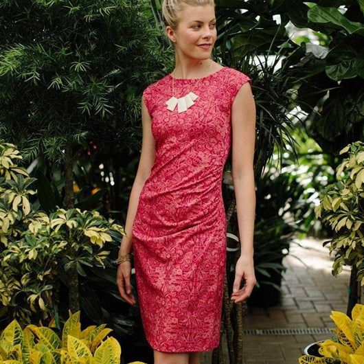 Mata Traders First Impressions Dress Ruby Pink - lifestyle