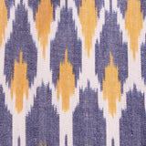 Mata Traders Ikat Polo Dress Peach fabric detail