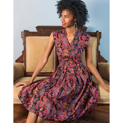 Mata Traders Lucille Dress Paisley