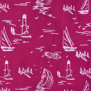 Mata Traders Penelope Dress Red Sails - fabric detail