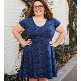 Perfect Day Dress Foxes - Plus Size model