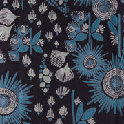 Mata Traders Serephina Dress Slate Blue Floral print detail