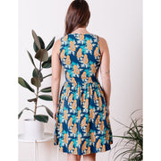 Mata Traders Summer Sonnet Dress Papaya back