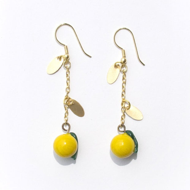 Limonata Earrings Yellow