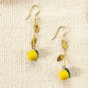 Limonata Earrings Yellow lifestyle