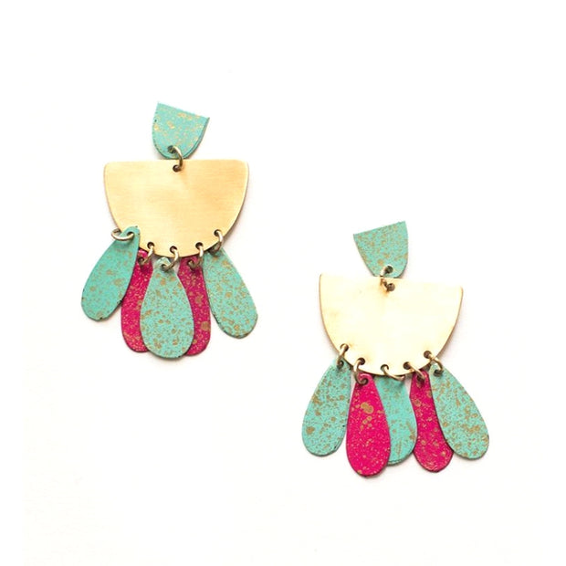 Mata Traders Patina Drop Earrings