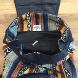 BG-N-GBPS Small Gyari Cotton Backpack inside view