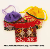 FREE manta fabric gift bag with sterling silver jewelry purchase
