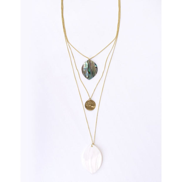 Sand And Sea Layered Necklace
