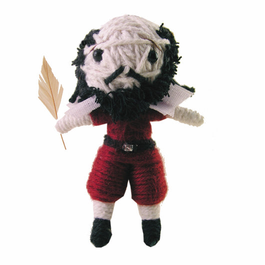 Shakespeare Kamibashi String Doll Keychain