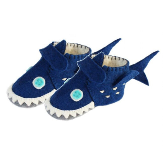 Zooties Toddler Booties - Shark