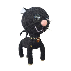 Winston Kitty Kamibashi String Doll Keychain