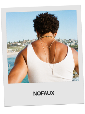 NOFAUX Double Pendant Sunglasses Chain