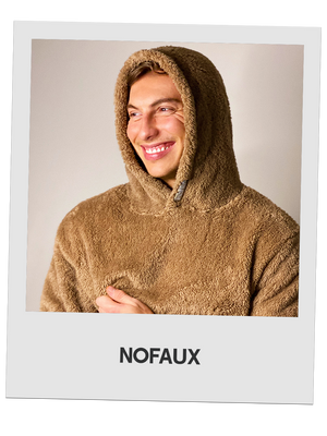 The Toodie | Oversized Teddy Hoodie | Brown