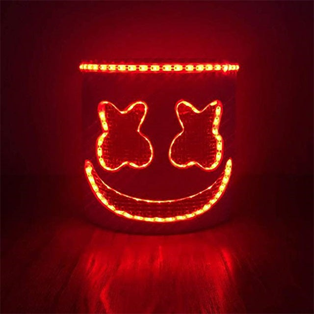 Marshmello Mask 2.0 - LED