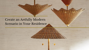 Create an Artfully Modern Scenario in Your Residence