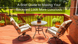 A Brief Guide on How to Utilize Luxury Garden Décor